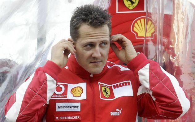 El estado de Schumacher es una incógnita debido a que la familia así lo quiere. Foto: AFP