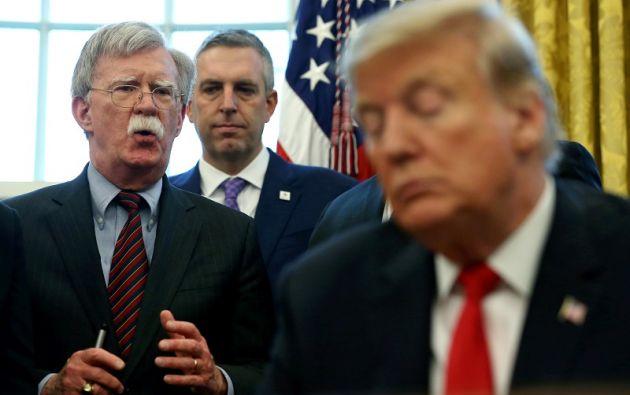"""""""Estaba en desacuerdo con muchos de sus consejos"""", dijo Trump. Foto: Reuters"""