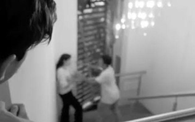 Un testigo miro cómo Diego apuñalaba a Nancy y alertó al canal de televisión donde trabajaban los dos.