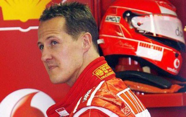 Michael Schumacher llegó en ambulancia al hospital parisino junto a un cirujano especializado este lunes. Foto: AFP.