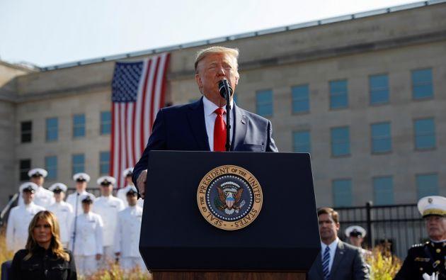 """""""Usaremos un poder como el que nadie ha usado, y ni siquiera hablo de armas nucleares"""", dijo Trump. Foto: Reuters"""