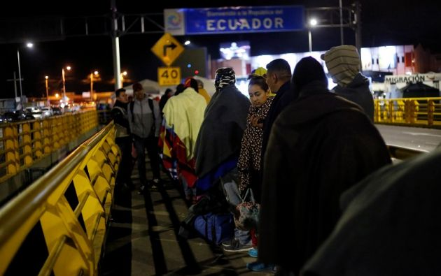 """""""Hemos pasado de 1.500-2.000 entradas diarias (de venezolanos) a 40-60"""", indicó Romo. Foto: Reuters"""