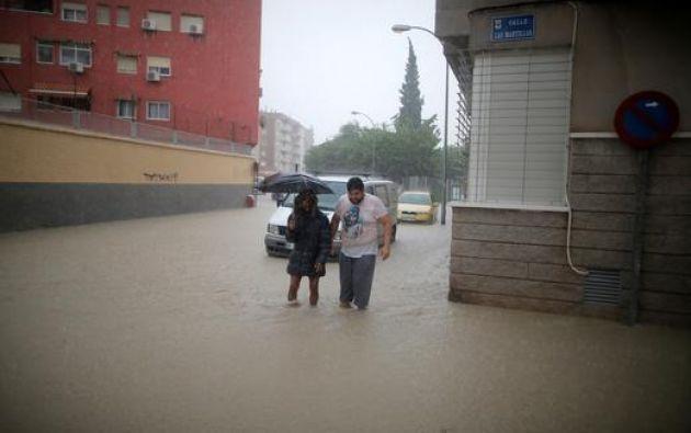 Autopistas, túneles y aeropuertos sin habilitarse tras las fuertes lluvias en el suroeste de España. Foto: Reuters.