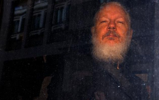 En febrero se decidirá la extradición de Assange a Estados Unidos, donde podría ser condenado a 170 años de prisión. Foto: Reuters.