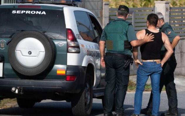 El triple crimen machista, cometido con un arma de fuego, sucedió en Valga, un pueblo de Galicia.
