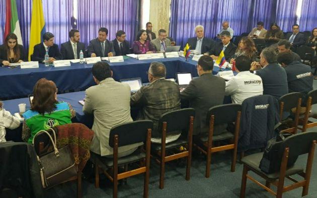 Las autoridades estiman que entre 300.000 y 400.000 venezolanos se encuentran actualmente en Ecuador.