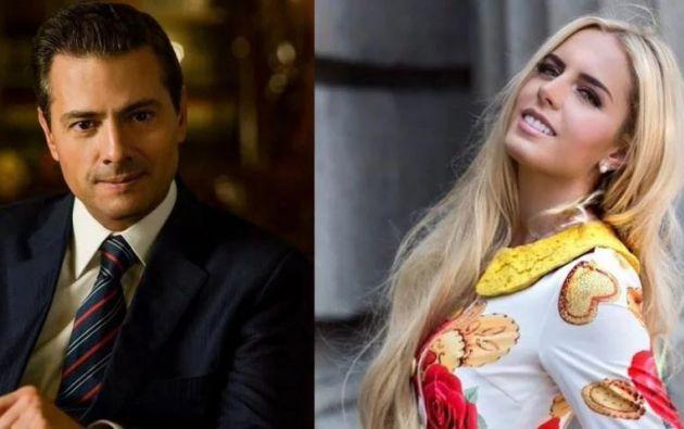 El expresidente de México le habría pedido a su actual pareja usar pelucas para pasar desapercibida.
