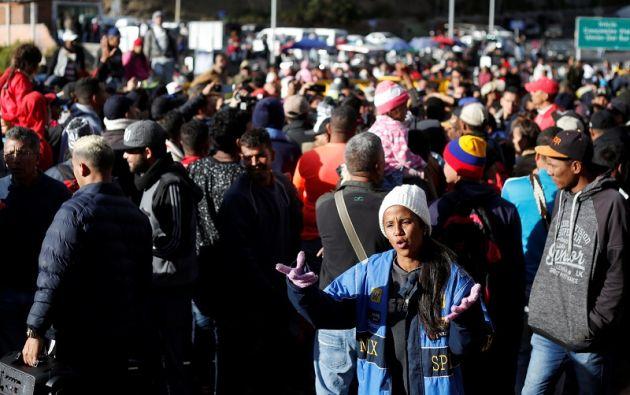 El 1 % de la población mundial ha sido desplazada por la fuerza. Foto: Reuters