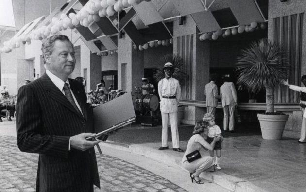 Con 91 años, el empresario estadounidense murió en Los Ángeles. Foto: Fundación Conrad N. Hilton
