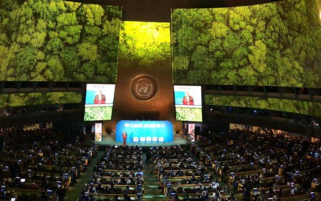 Solo aquellos países que presenten compromisos para aumentar su ambición climática podrán intervenir en la cumbre. Foto: Gabriela Pinasco