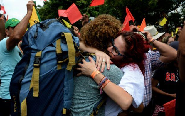 Estudios científicos han demostrado en el pasado que la bondad beneficia enormemente la salud física y mental de una persona. Foto: AFP.