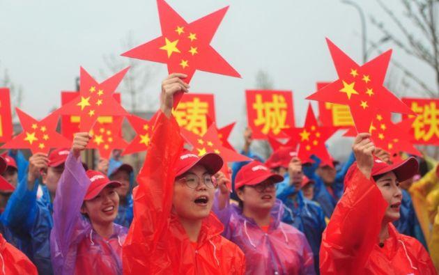 Los opositores temen que las autoridades utilicen el desarrollo tecnológico de China, como el reconocimiento facial, para vigilar más a sus ciudadanos. Foto: AFP.