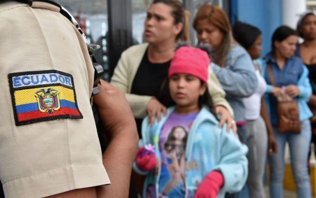 Según las autoridades, el proceso de registro beneficiará a más de 300.000 venezolanos. Foto: AFP