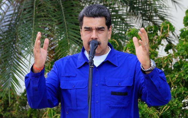 """""""Tendrían que hacerle mil juicios políticos a Donald Trump por su chantaje al mundo contra Venezuela"""", dijo Maduro. Foto: AFP"""