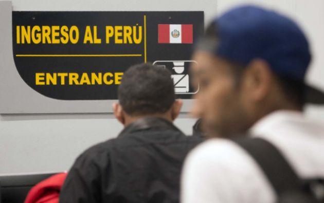 La percepción en Lima es que existe una relación entre el aumento de la delincuencia y la presencia masiva de venezolanos. Foto: AFP