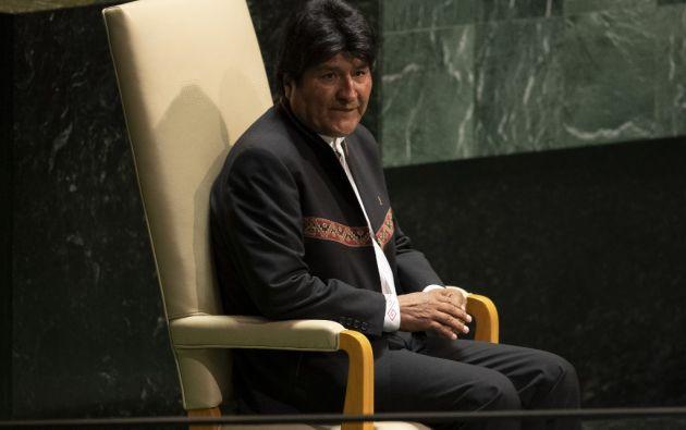 Según la Constitución boliviana, un candidato puede ganar la presidencia en primera vuelta si obtiene 50% más uno de los votos válidos. Foto: AFP