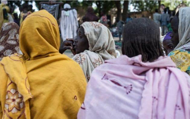 Mientras algunas mujeres acudían por voluntad propia, otras eran secuestradas y obligadas a quedarse embarazadas. Foto: AFP.