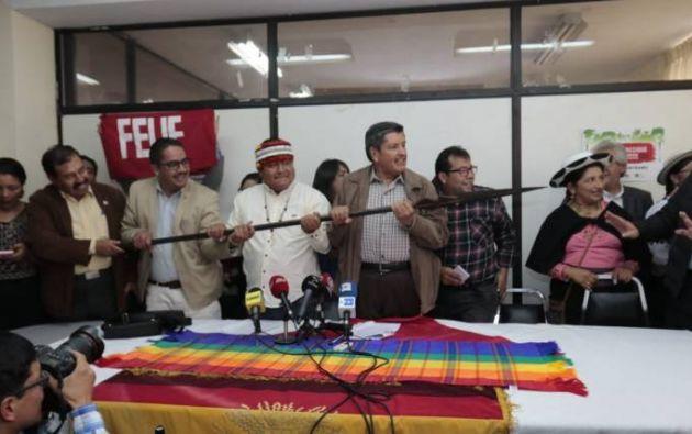 """Los dirigentes anunciaron que octubre será """"el mes de la resistencia"""" y movilización social """"gradual y permanente""""."""