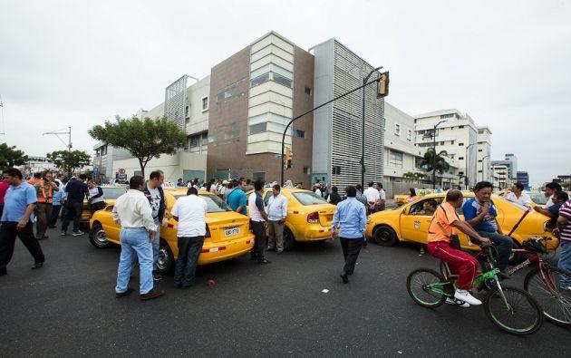 Durante la paralización en Quito y Guayaquil se realizaron protestas en diferentes puntos. | Fotos: José Villacreses (CORTESÍA)