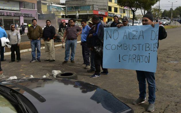 El primer día de protestas dejó 35 heridos, entre ellos 21 policías, y 277 detenidos, de acuerdo con autoridades. Foto: AFP