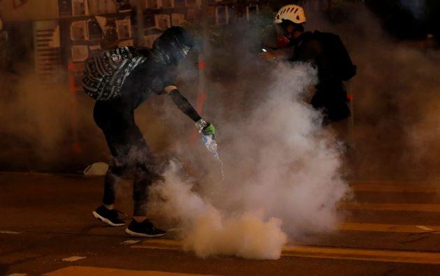 Los manifestantes hongkoneses se organizan y planean las protestas a través de aplicaciones de mensajería por internet, foros, redes sociales y otras plataformas. Foto: Reuters.