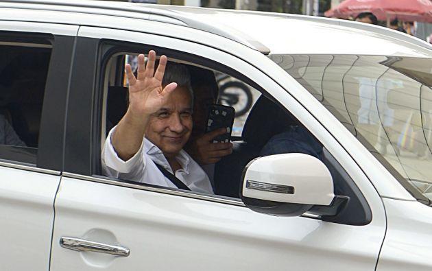 """Moreno señaló a Maduro y al expresidente Rafael Correa de activar un """"plan de desestabilización"""" para sacarlo del poder. Foto: AFP"""