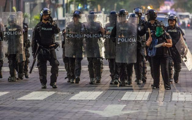 Lo que vivimos (...) es delincuencia y vandalismo, dice Roldán | Foto: José Villacreces (Cortesía)