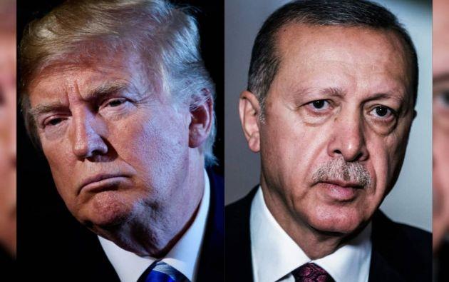 El presidente de Turquía asegura que el país 'conoce su propio camino, Turquía se lo guisa y se lo come'. Foto: AFP.