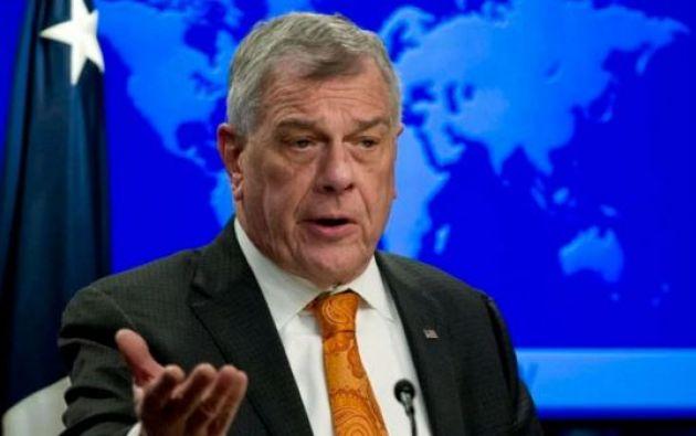 """""""Estados Unidos sigue con cautela los recientes acontecimientos en Ecuador"""", dijo el funcionario."""