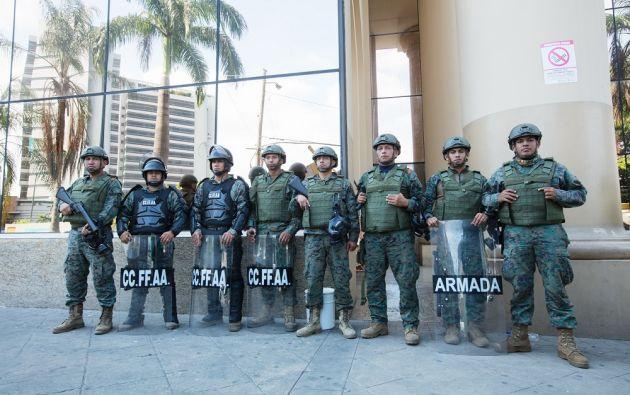 Quienes no acaten esta orden serán detenidos, segun dice el decreto. | Foto: José Villacreses.