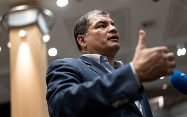 """""""Si es necesario que sea candidato, lo seré"""", dijo el expresidente tras solicitar elecciones adelantadas. Foto: AFP."""