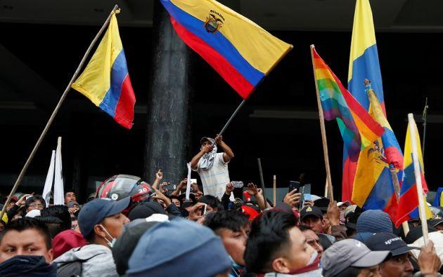 """Según la Conaie, el Gobierno demuestra """"su debacle y la incapacidad de las autoridades para responder frente a la movilización social"""". Foto: Reuters"""