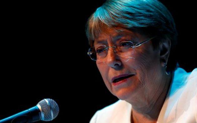Michelle Bachelet también alertó sobre el resurgimiento del nacionalismo, acompañado de un fuerte racismo, discriminación y xenofobia. Foto: Reuters.
