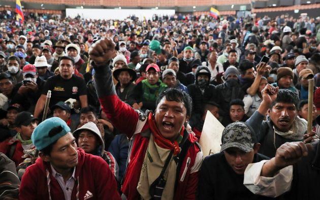 Son temidos por su coraje y capacidad de organización en la protesta. Foto: Reuters