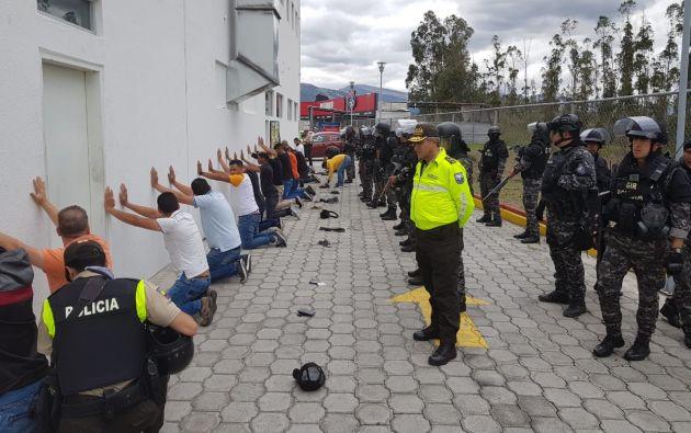La ministra indicó que la mayoría son de nacionalidad venezolana.