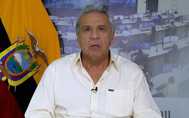 Presidente Lenín Moreno ratificó la apertura al diálogo con la dirigencia indígena.
