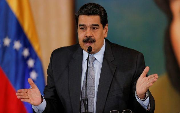 """""""Es una muestra de que los movimientos sociales, obreros e indigenistas unidos, siempre defenderán sus más sagradas conquistas"""", dijo Maduro. Foto: Reuters"""