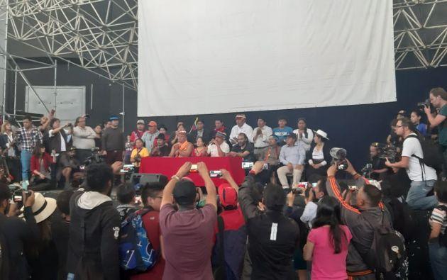 """""""Hasta mañana tendrá que normalizarse todos los precios. La lucha fue por todos los ecuatorianos"""", afirmó Vargas."""