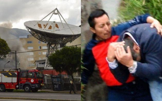 Fundamedios registró también veinte agresiones contra medios de comunicación, entre ellas la más grave a las instalaciones de Teleamazonas.