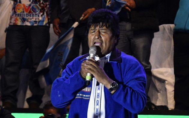 Morales se convirtió en 2006 en el primer presidente indígena en Bolivia salido de las urnas. Foto: AFP