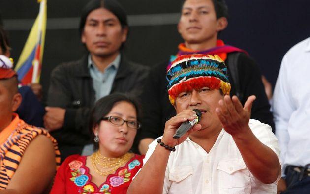 La Confederación de Nacionalidades Indígenas del Ecuador (Conaie) aceptó trabajar conjuntamente con el Gobierno. Foto: Reuters