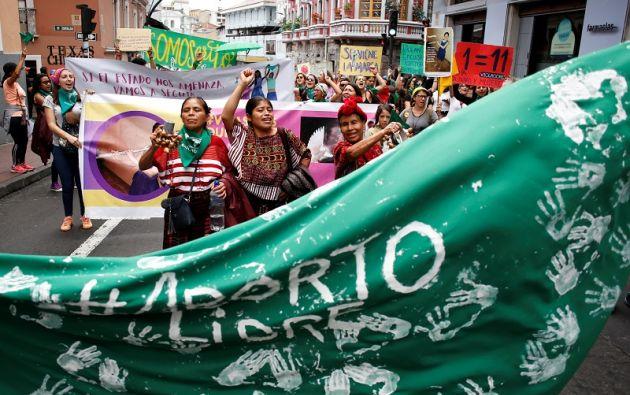 El Legislativo negó la moción que abogaba por despenalizar el aborto por violación.  Foto: Reuters