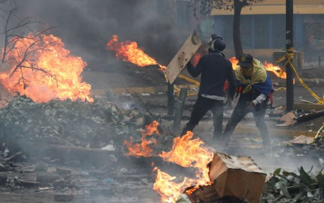 Las protestas en rechazo al decreto 883 duraron 12 días. Foto: Reuters.