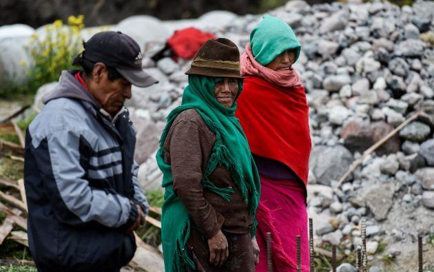 Los indígenas representan el 25% de la población de 17,3 millones y son el sector más pobre de Ecuador. Foto: AFP