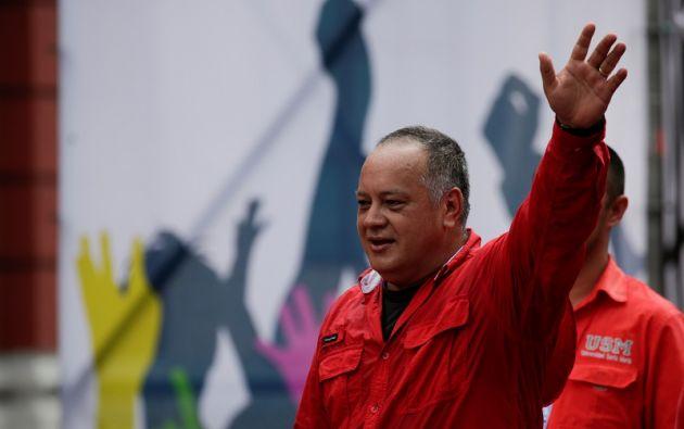 """""""Buen alumno de Pinochet que es Piñera"""", dijo Cabello sobre las protestas en Chile. Foto: Reuters"""