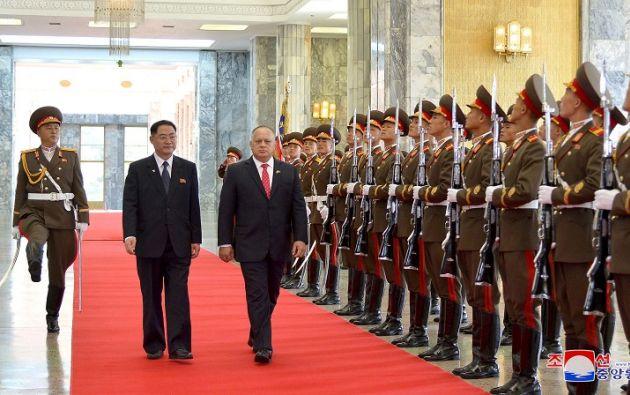 "Cabello instó a ""estar alerta"" pues ""no podemos dejar a Bolivia solo, no podemos dejar a Evo solo"". Foto archivo: Reuters"