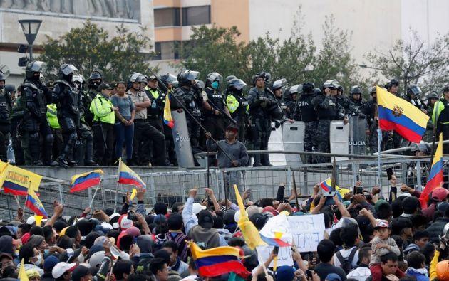 """La respuesta a todas estas protestas con raíces comunes debe ser """"un diálogo genuino y significativo"""". Foto: Reuters"""