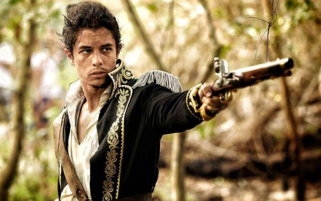 El actor venezolano José Ramón Barreto es conocido por su papel del joven Bolívar en la serie de Netflix.