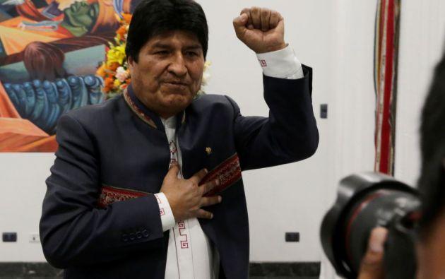 Según la autoridad electoral de Bolivia, Evo Morales obtuvo la mayoría de votos para conseguir la Presidencia en primera vuelta.