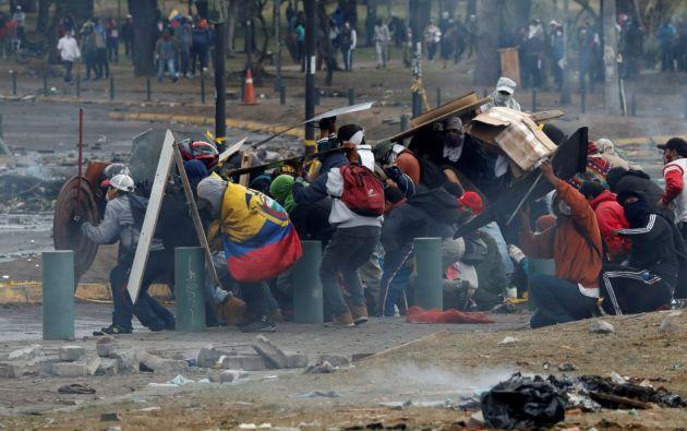 Bolivia, Chile, Ecuador, España y Hong Kong han sido escenarios de violentas protestas en las últimas semanas. Foto: Reuters.